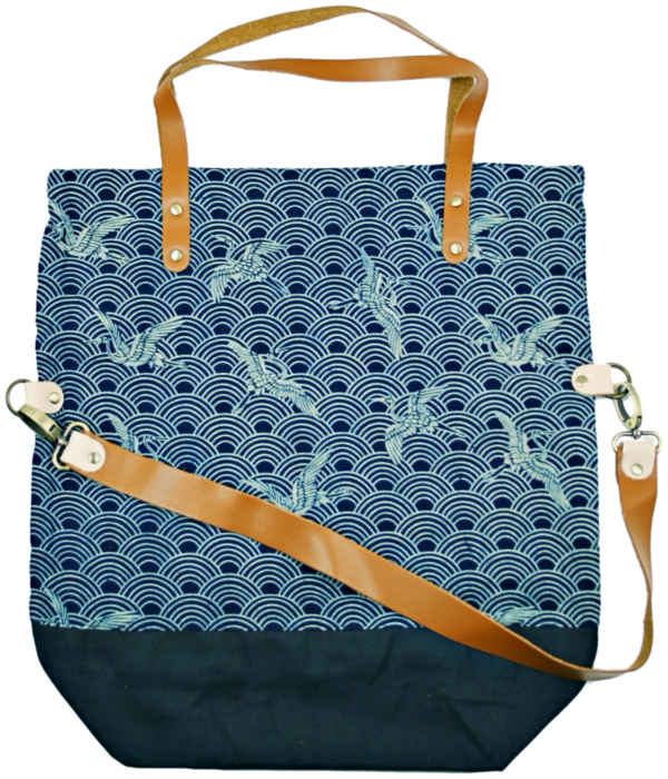 shopper bag Pine indigo 1