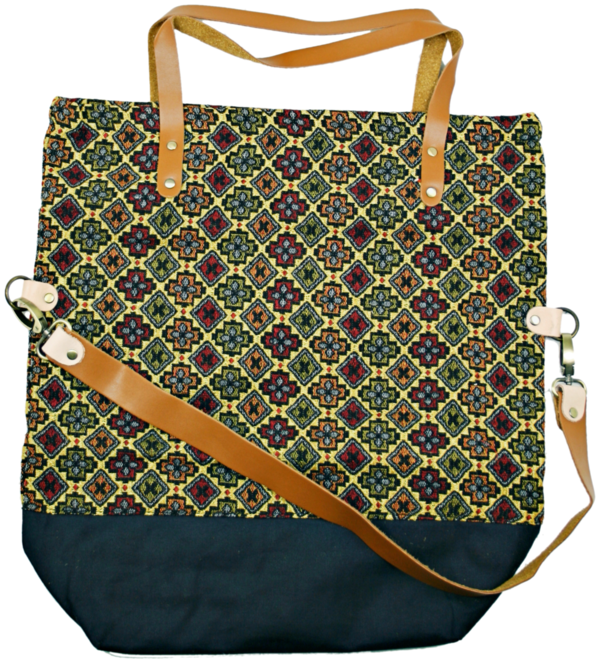 shopper bag Pine gold gelb