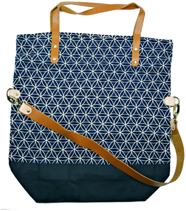 shopper bag Pine indigo 2